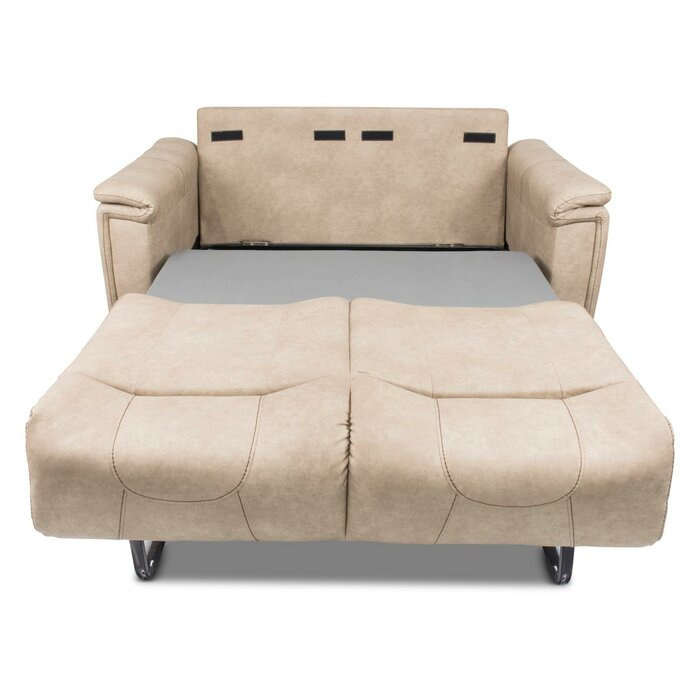 Remarkable Trifold Sleeper Loveseat Machost Co Dining Chair Design Ideas Machostcouk