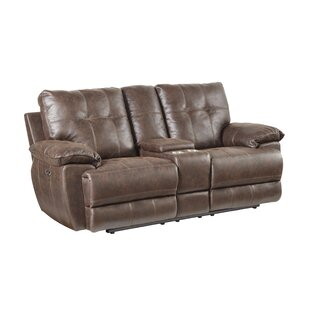 Lucio Tuffed Reclining Loveseat by Williston Forge New Design