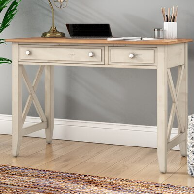 Bridgeview Solid Wood Writing Desk by Beachcrest Home