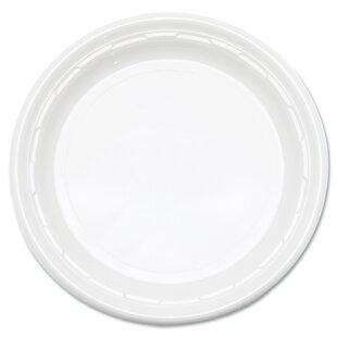 Famous Service Plastic Dinnerware Plate (Carton of 1,000)