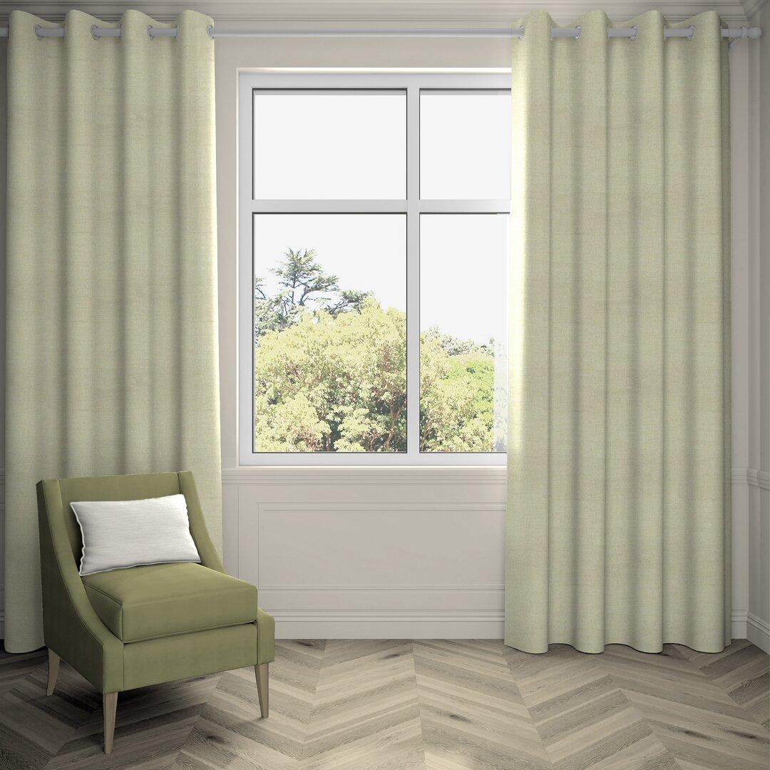 Agneta Hamleton Textured Pencil Pleat Room Darkening Thermal