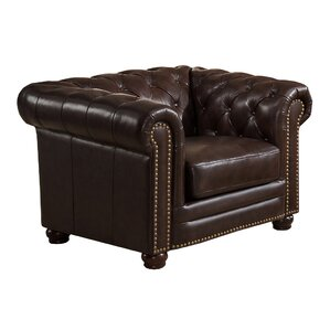 Kensington Chesterfield Chair by Amax