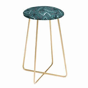 Schatzi Brown Modern Line Midnight 30 Bar Stool East Urban Home