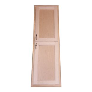 Christopher 15 x 43 Recessed Medicine Cabinet By WG Wood Products