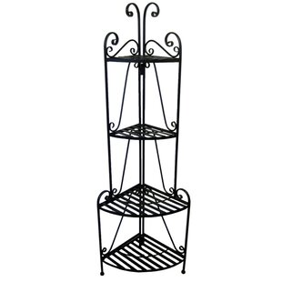 Folding Iron Baker's Rack