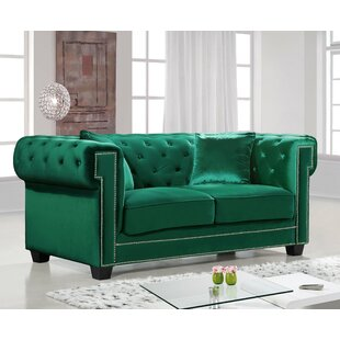 Hilaire Chesterfield Loveseat