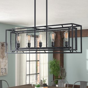 Reviews Cosette 5-Light Kitchen Island Pendant By 17 Stories
