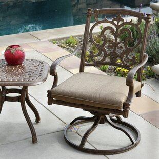 Bergen Swivel Patio Dining Chair with Cushion