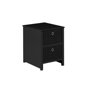 Fogle 2 Drawers Night Stand by Ebern Designs