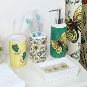 Flutter 18 Piece Bathroom Accessory Set