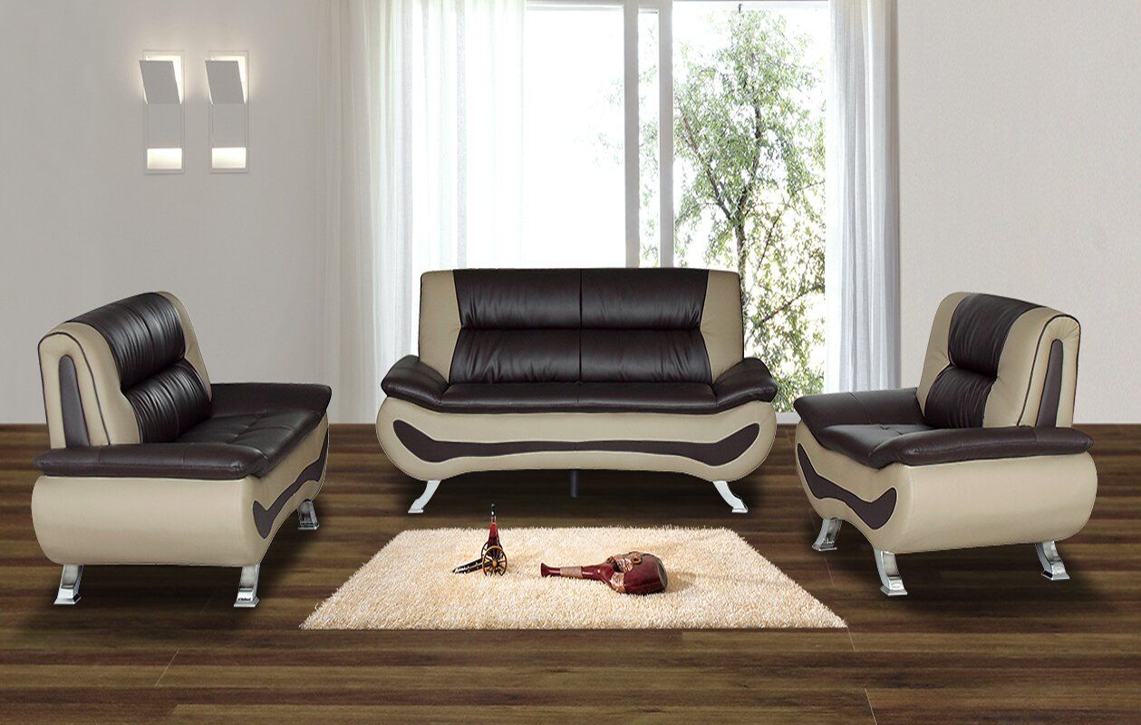 6 piece living room set. Berkeley Heights 3 Piece Living Room Set Part 6  Home Design