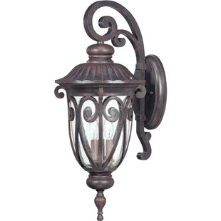 Devlin 3-Light Outdoor Wall Lantern By Astoria Grand Outdoor Lighting