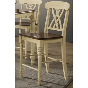 Leedom 24 Bar Stool (Set of 2) by August Grove