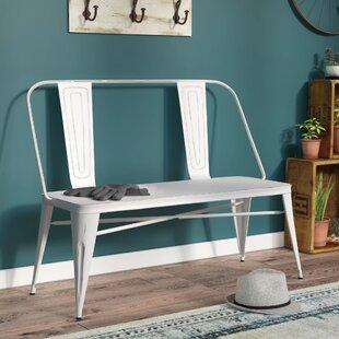 Shop For Claremont Metal Bench ByTrent Austin Design