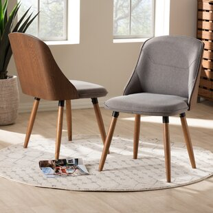 Brogdon Upholstered Dining Chair (Set of 2) George Oliver
