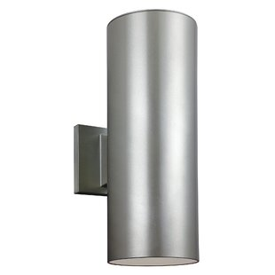 Outdoor wall lighting modern contemporary designs allmodern bullets 2 light outdoor sconce workwithnaturefo