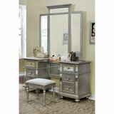 Jacey Vanity with Mirror by Rosdorf Park