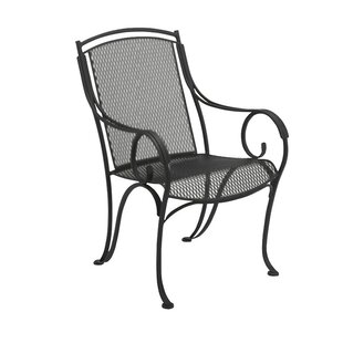 Modesto Patio Dining Chair by Woodard Great price