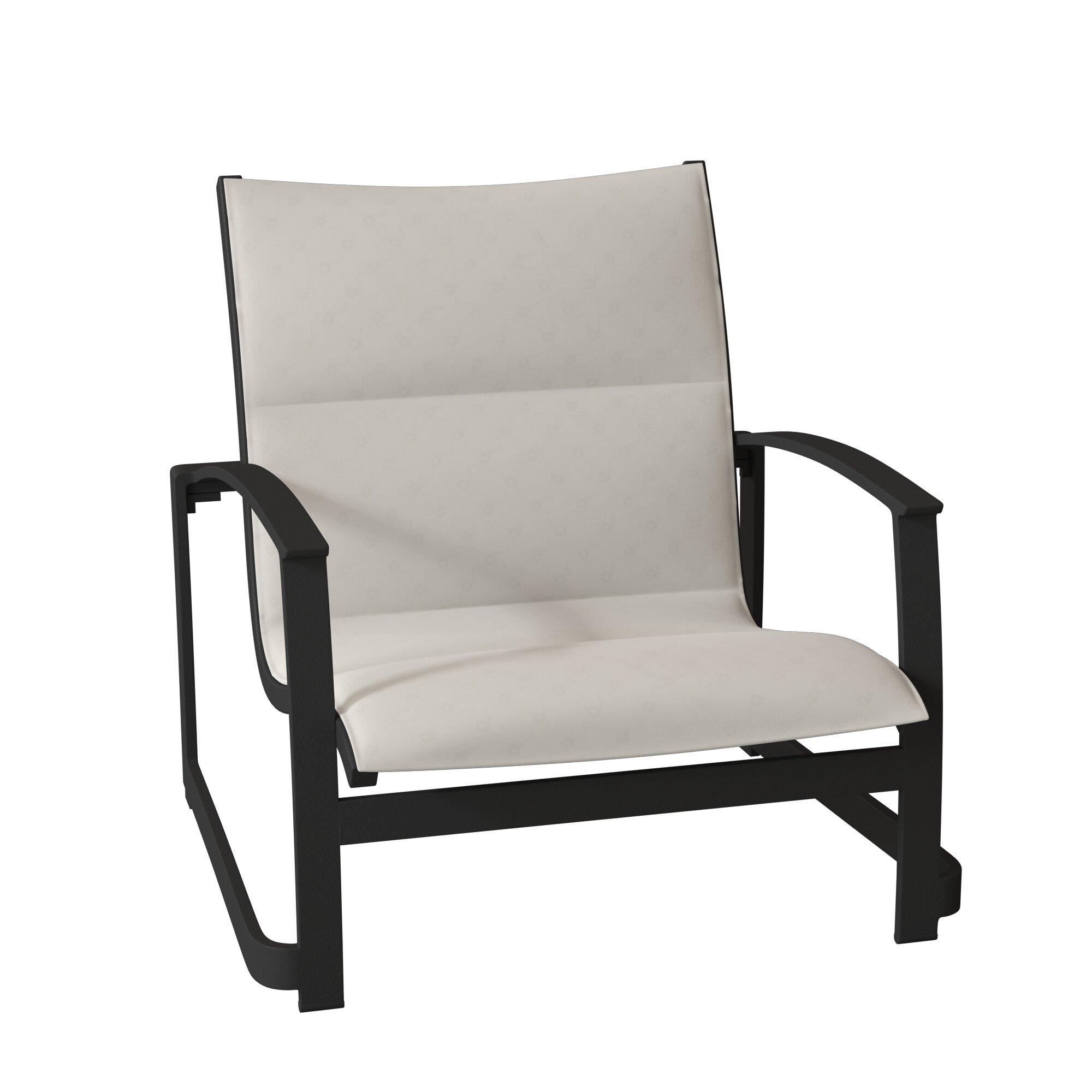 Tropitone Mainsail Padded Sling Sand Patio Chair Wayfair