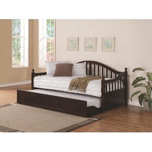Scrivner Twin Daybed with Trundle by Harriet Bee