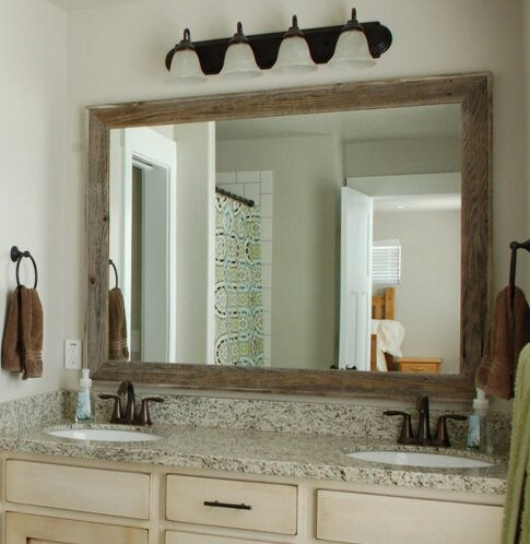 Trosper Rustic Bathroom Vanity Mirror