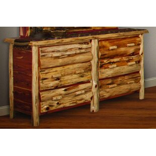 Detroit 6 Drawer Double Dresser by Loon Peak Amazing