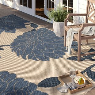 Larson Blue Indoor/Outdoor Area Rug