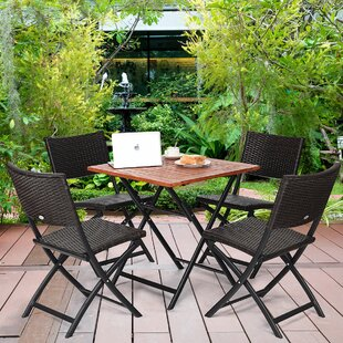 Winding 5 Piece Dining Set