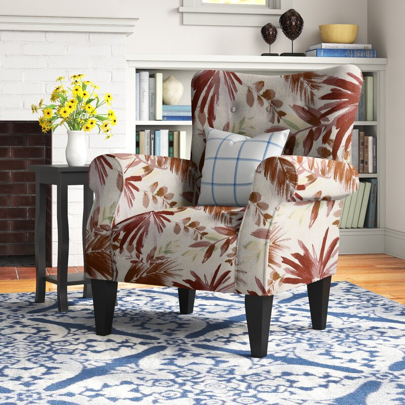 Andover Mills Euart 30'' Wide Tufted Chair