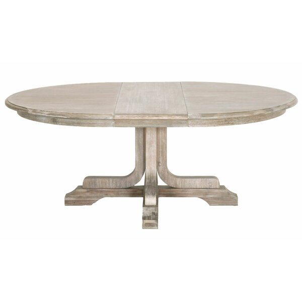 Round Dining Table With A Leaf Wayfair