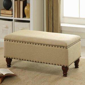 Oakford Upholstered Storage Bench