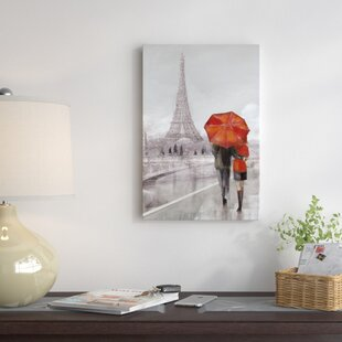 be11ae566dd  Modern Couple In Paris  Painting Print on Canvas