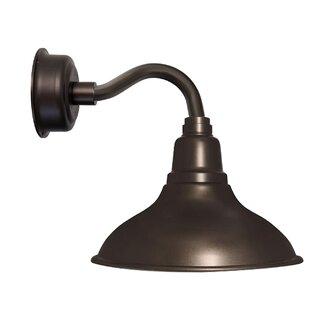 Idella 1-Light LED Barn Light By Latitude Run Wall Lights