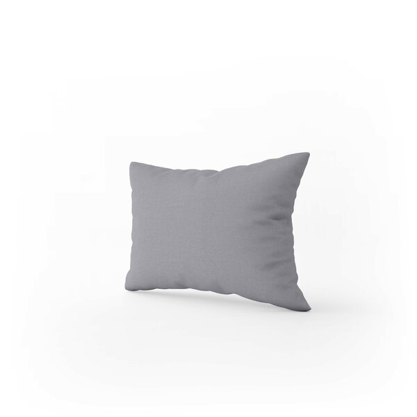 Poly Cotton Bolster Pillow Oxford Edge Housewife Pillows Cases plain Dyed Colors