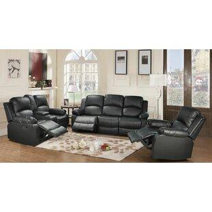 Giavanna 3 Piece Reclining Living Room Set by Red Barrel Studio