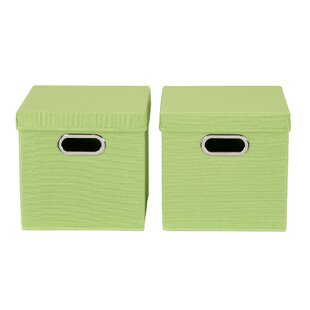 KD Fabric Cube (Set of 2) by Hashtag Home