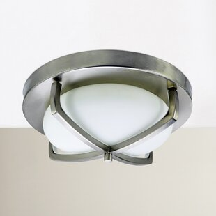 Camille 2-Light Flush Mount By Zipcode Design Ceiling Lights