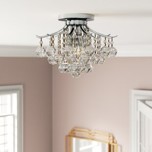 McAllen 3-Light Semi Flush Mount