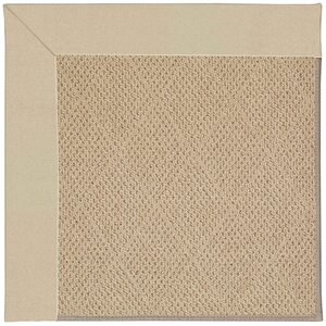 Zoe Machine Tufted Ecru/Beige Indoor/Outdoor Area Rug