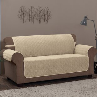 Comparison Box Cushion Sofa Slipcover by Alcott Hill Reviews (2019) & Buyer's Guide