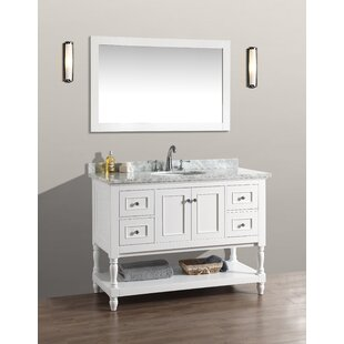 48 Single Bathroom Vanity Set with Mirror by Birch Lane?