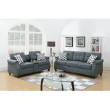 Liddington 2 Piece Living Room Set by Ebern Designs