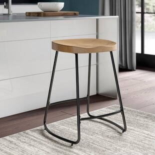 Barker 24 Bar Stool by Williston Forge No Copoun