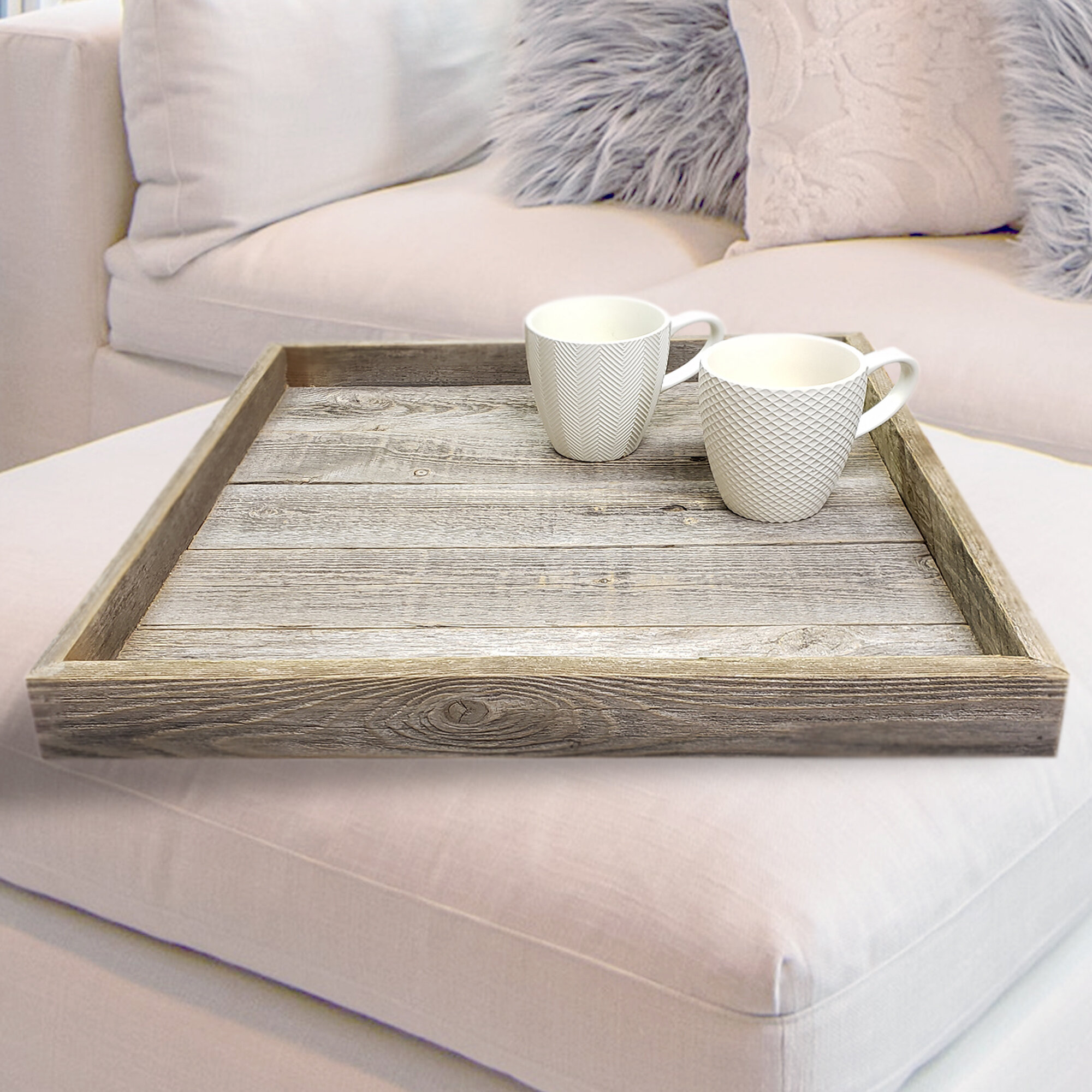 Ottoman Coffee Table Trays Free Shipping Over 35 Wayfair