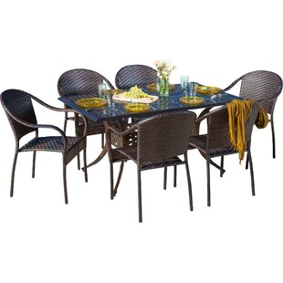 Rosier 7 Piece Dining Set