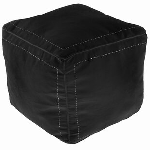 Mouassine Leather Pouf