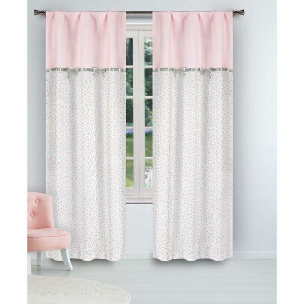 3a4e3a5c37b71 Pink Curtains With Bows