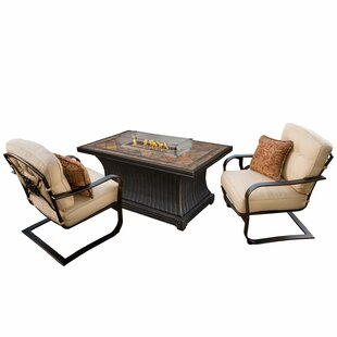 Kirschner 3 Piece Conversation Set with Cushions
