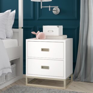 Tazewell 2 Drawer Nightstand by Greyleigh