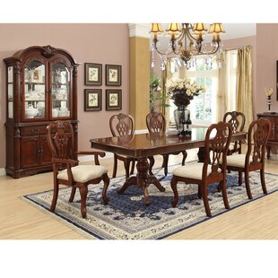 Larock 9 Piece Dining Set  sc 1 st  Wayfair & Dining Sets With Hutch | Wayfair